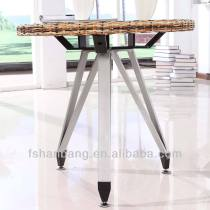 Classic Compact Wicker Dinning Table
