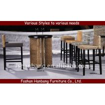 Water Hyacinth Bar Furniture Set