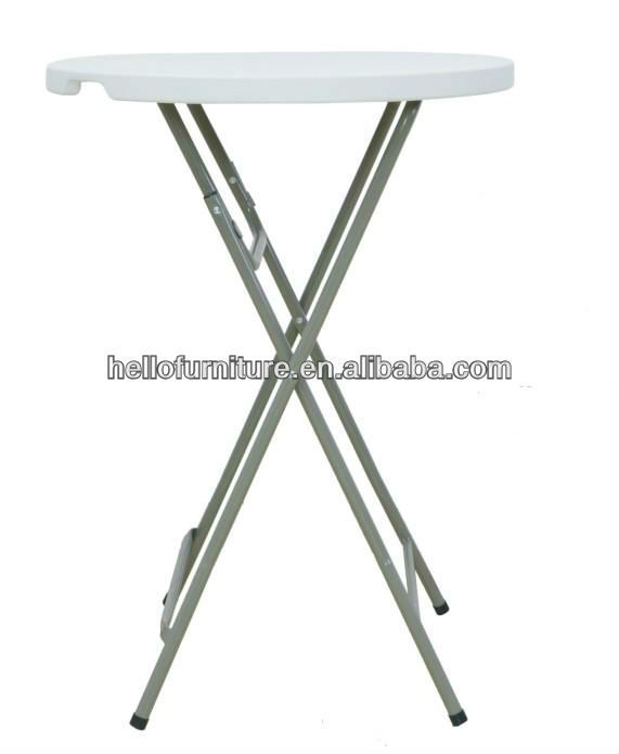 110cm high folding bar cocktail tables buy high top for Cocktail tables for sale used