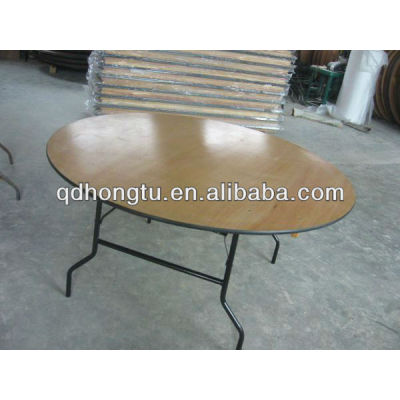 Economy Commercial Plywood Folding Table