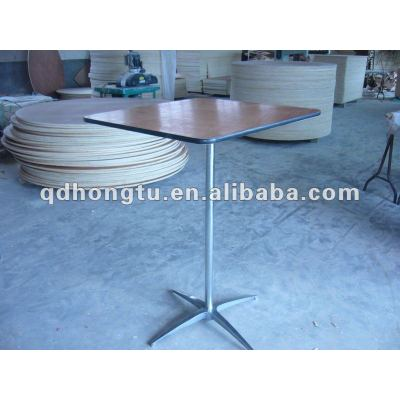 folding wood bar table