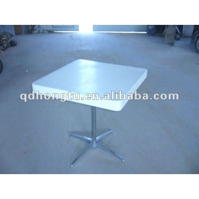 outdoor round folding dining table