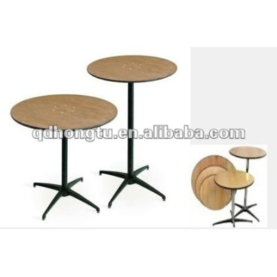 wooden folding banquet tables