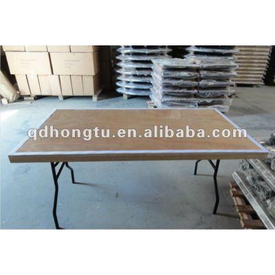 modern banquet wooden folding table