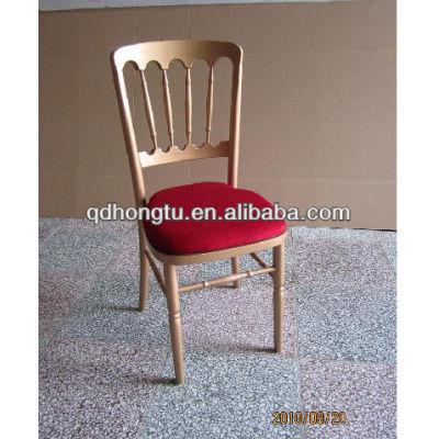 wood restaurant napoleon wedding chair