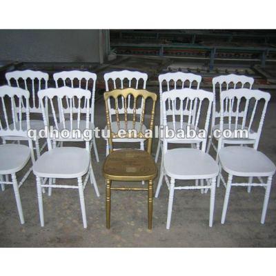 white wood napoleon hotel banquet chair