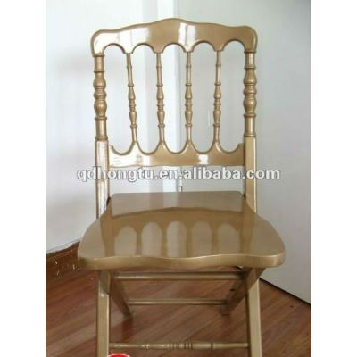 gold chateau hotel chair,wood napoleon chair