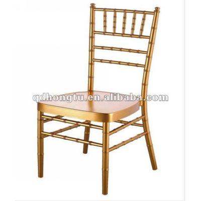 factory gold resin chiavari chair