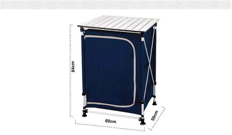 Aluminum Camping clothespress for home folding table