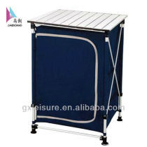Aluminum Camping clothespress for home small picnic folding table