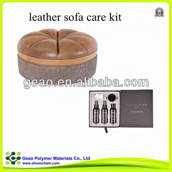 geao leather furniture care kit 3 psc cleaning products for sofa leather care kit - Leather Furniture Care Kit
