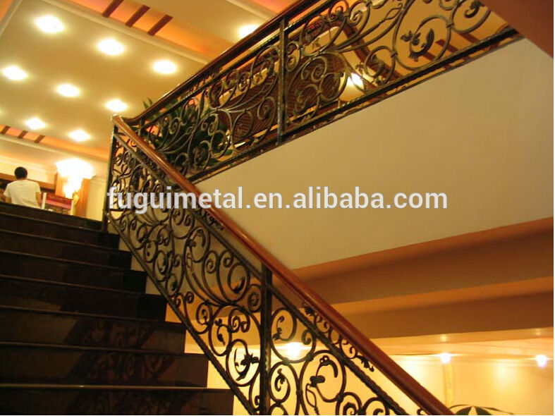Antique lowes interior wrought iron stair railings buy wrought iron stair railings stair for Lowes exterior wrought iron railings
