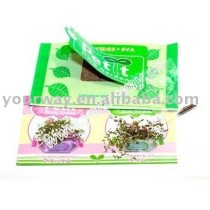 Wet wipes flower,mini garden,promotional gift