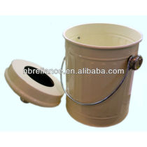 1.8 Gallon Metal compost pail