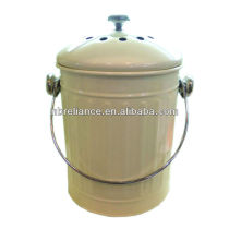 2 Gallon Metal compost pail