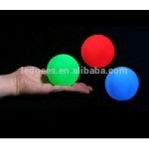 Small Color Changing Led Glow Ball Small Ball Plastic Toys