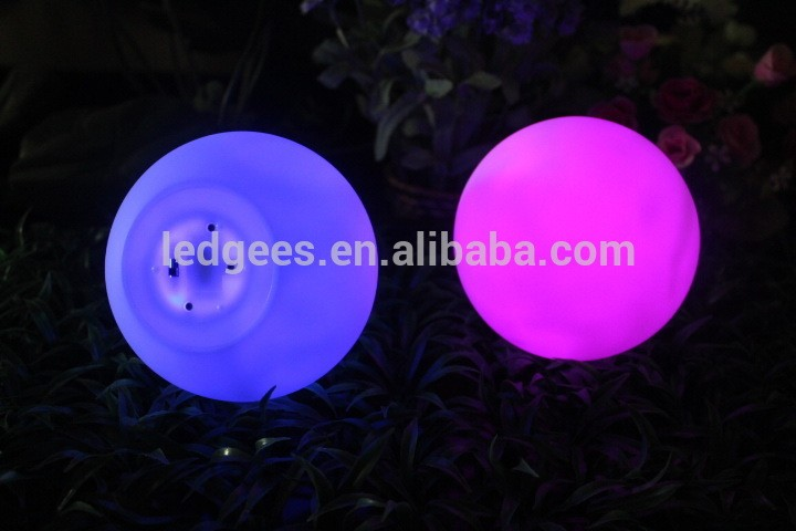 Small Color Changing Led Glow Ball Bath small hard rubber balls