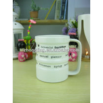 Lovely Cheap White Blank Ceramic Tiki Mugs
