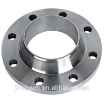 Weld neck steel blind pipe flange