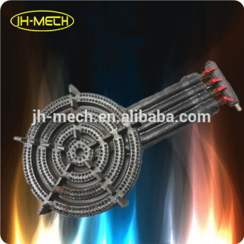 Natural gas burner cast iron