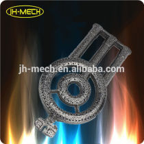 High pressure cast iron wok gas burner