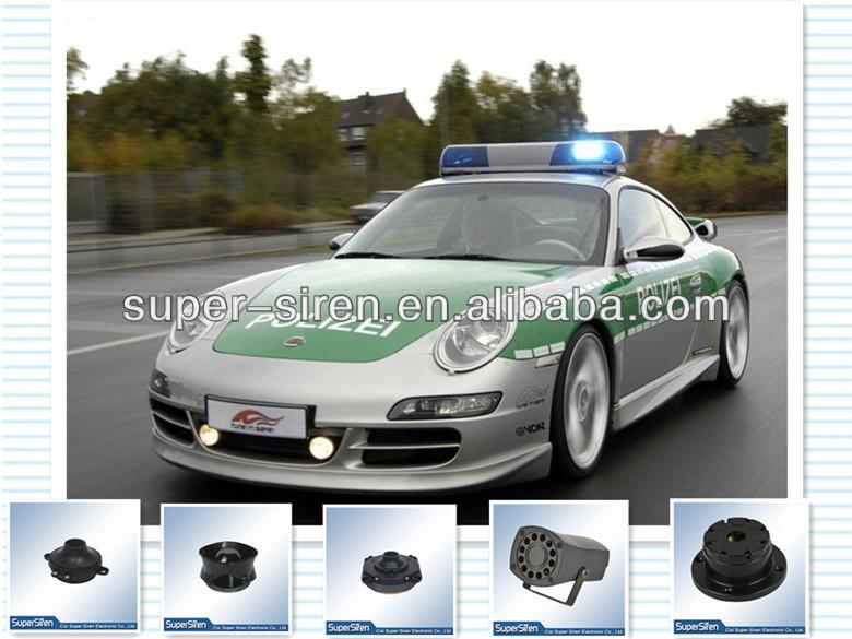 12v manufacturer waterproof security alarm 150db 6 tone car