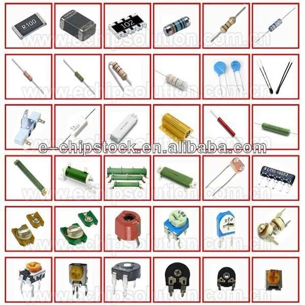 Modern Electronic Circuit Components List Illustration - Electrical ...