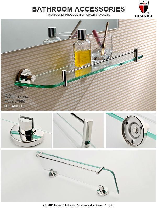 HIMARK SUS 304 Stainless steel bathroom corner shelf