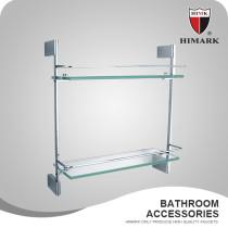 HIMARK wall mount glass bathroom accessories