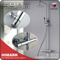 Thermostatic mixer shower New anti scalding thermostatic technology with CE and EN1111 certification