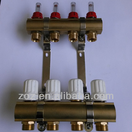Brass Central Heating Manifold Heating Water Buy Brass