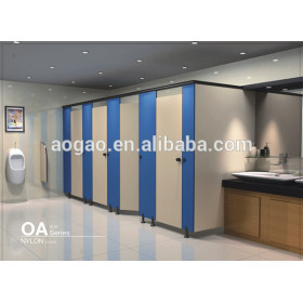 Aogao OA series cheap compact hpl toilet commercial