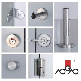Aogao 26 series stainless steel 304 toilet partition fitting
