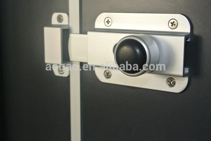 Aogao 14 series aluminum commercial toilet partition door - Commercial bathroom stall door latches ...
