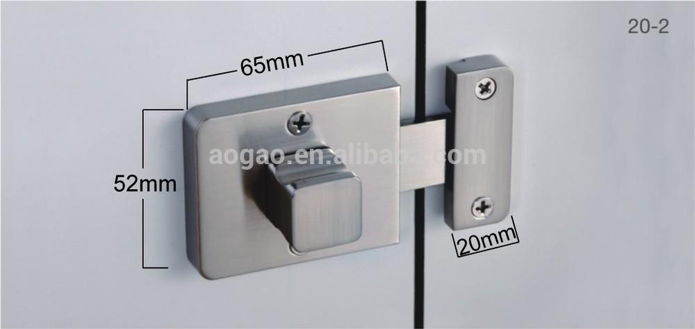 Aogao 20 2 zinc alloy public bathroom handle door lock - Bathroom door that fogs up when locked ...