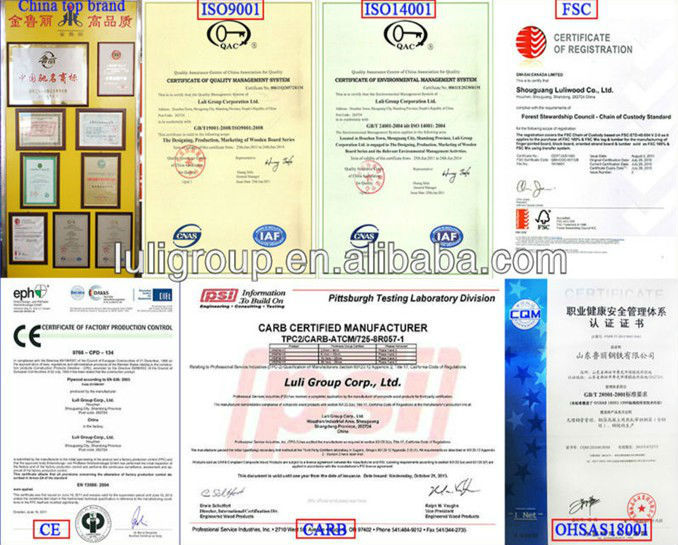 melamine HDF door skin /veneer mdf door skin for iran market from china luli group / door skin manufacturer /factory