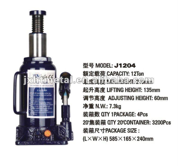 JACK/ lifting / Hydraulic bottle Jack 12T
