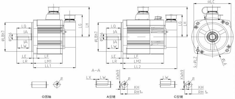1.5KW ac permanent magnet elektromotor,China electric