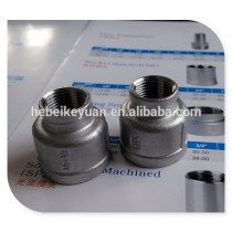 150# stainless steel 304 socket joint reducing coupling