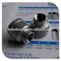 316 cast stainless steel reducer pipe coupling
