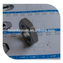 stainless steel 304 cast pipe fittings hex locknut 1