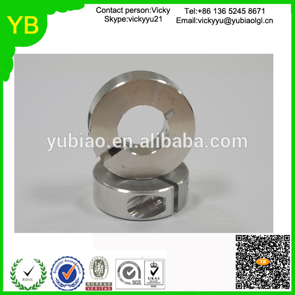 customized cnc lathe parts high precision cnc auto&lathe aluminum shaft collars