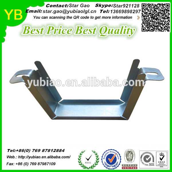 Zinc plated metal stamping bending part construction machinery parts