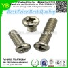 High precision cross screws,zinc plated flat head screws from Dongguan factory