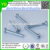 Machine screws from Dongguan hardware manufacturer,flat head galvanized screw
