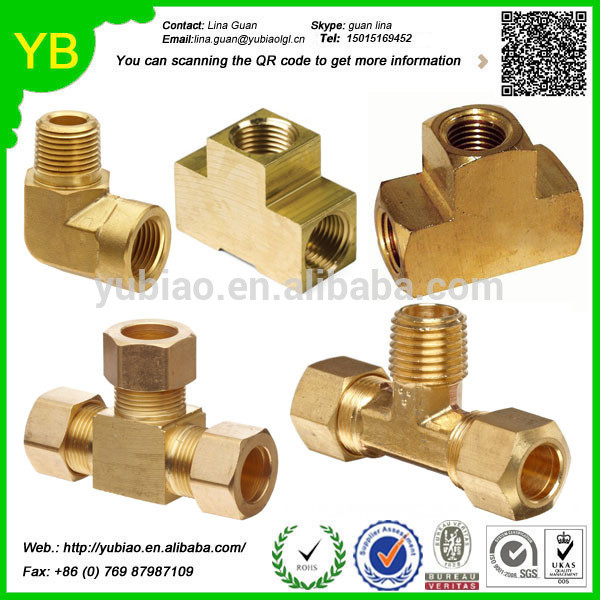 ISO9001:2008 Customized brass fitting,90 degree street elbow brass pipe fitting,adapter