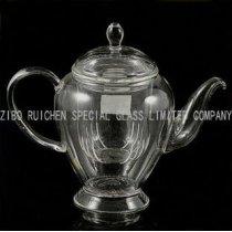 high borosilicate glass teapot