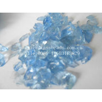 Colored crushed glass for decoration ,surface cleaning