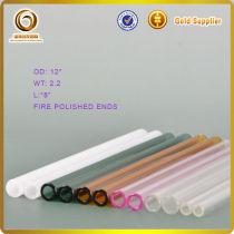 borosilicate pyrex white tube glass tube tubes tubing pipes(L-351)