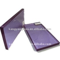 purple decorative glass